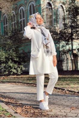 Scuba Takım Beyaz