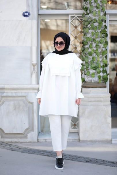 Luna Takım Beyaz