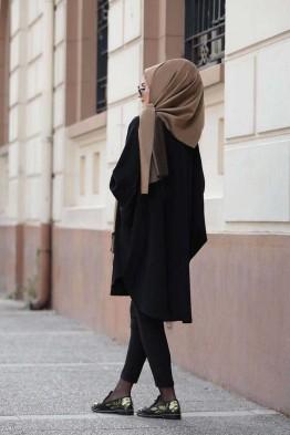 Salaş Tunik Siyah