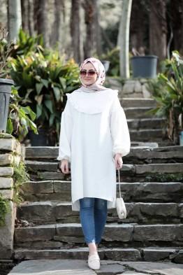 Vera Tunik Beyaz
